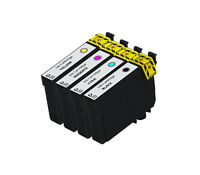 4Ink Cartridges for Epson XL WorkForce WF-2750 WF-2760 Black & Color NON-OEM