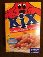 Sealed Full Expired 2011 Kix Cereal Box Clifford The Big Red Dog Advertising