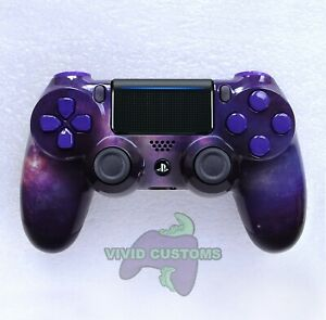 Custom PS4 Controller Nebula Space Galaxy Mod PlayStation 4 Dualshock V2 Gamepad