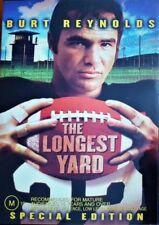 The Longest Yard DVD Burt Reynolds Adam Sandler Chris Rock BRAND NEW R4