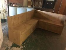 CORNER  MONKS SETTLE HALL BENCH   MADE TO ANY SIZE