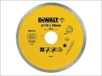 DEWALT - Diamond Tile Blade 110mm x 20mm