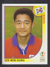 Panini - Korea Japan 2002 World Cup - # 245 Lee Min-Sung - South Korea