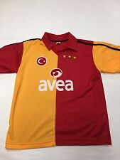 Mens Athletic Red/Yellow #9 H.Sukur Soccer Jersey Sz Xs
