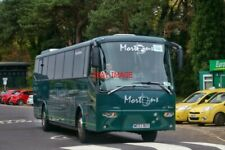 PHOTO  MORTONS BOVA FUTURA (WE53 BUS) RAIL REPLACEMENT BUS SERVICE AT BOURNEMOUT