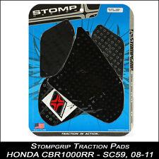 Stompgrip TRACTION Pads,HONDA CBR 1000RR,08-11,SC59,noir,tampon de réservoir,