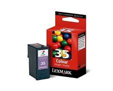 Lexmark N ° 35 couleur haute capacité cartouche d'encre original 18C0035E 35XL