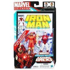marvel universe greatest battles Silver Centurion vs Mandarin Comic 2-Pack MINT