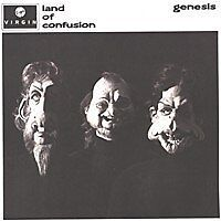 GENESIS Land of confusion UK Press 45 Tours