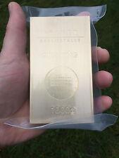 1 kg 1000 Gramm Messing Messingbarren Brass Schloss Güldengossa Edition verschw.