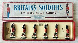 Britains: Set 77 - The Gordon Highlanders [1960 version] - VNMIB