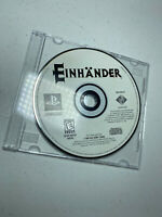 Einhander (Sony PlayStation 1, 1998) Video Game Shooter PS1 Disc Only TESTED
