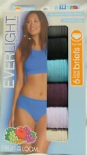 Fruit of The Loom Everlight Low Rise Briefs 6 Pair No Panty Lines Sz 10 3x