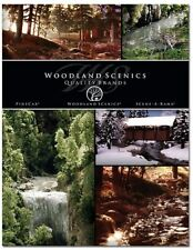 Woodland Scenics WO20140 2014 Edition Full Range Scenic Materials Catalogue 1st