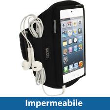 Nero Fascia Braccio per Apple iPod Touch 6ª 5ª Generazione 5G 6G Corsa Sport