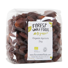 Forest Whole Foods - Organic Sun Dried Apricots  (Free UK Delivery) 2kg