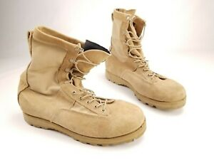 Belleville Gore-Tex Leather Army Flight Combat Military Boots Mens 11.5R