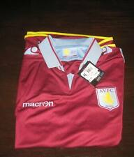 ASTON VILLA 2012/13 HOME SHIRT SHORT SLEEVE TAGS X LARGE BOYS