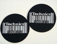 Slipmats Technics DMC 1200 1210 Barcode (1 paire / 1 pair) mbar NEUF +