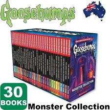 Goosebumps Monster Collection 30 Books by R. L. Stine Free Post From Melbourne