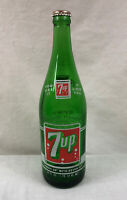 28oz 7UP ACL SODA BOTTLE 1 PINT 12oz SEVEN-UP 1968