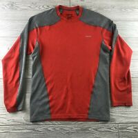 Patagonia Capilene 3 Midweight Baselayer Pullover Shirt XSmall Red Gray Long Sle