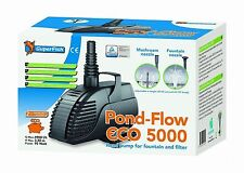 SuperFish Pond Flow Eco 5000 Springbrunnenpumpe 95W