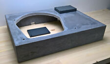 """Garrard 401 New GFR Concrete Plinth / Glasfaserbeton Zarge 10'' - 14"""""""