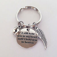 Key Chain Couple Stainless Steel Keyring Keyfob Lover Xmas Gift Her Keychain LC