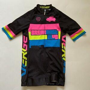 VERGE SPORT BREAK FAST CLUB Women Cycling Jersey Multicolor Size XS
