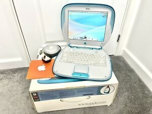 Apple iBook G3 Blueberry M2453 1999 Clamshell - Boxed Collectors Condition