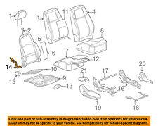 GM OEM Front Seat-Recline Adjust Lever 22726098