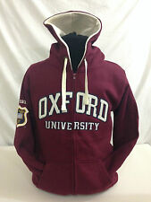 Officially Licenced Oxford University Zipped Applique Hoodie Unisex