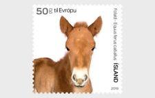 Ijsland 2019    dieren pony  en hond  2w      postfris/mnh