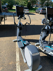 Precor EFX 883 Elliptical with Converging Crossramp w/ P82 - Cleaned & Serviced