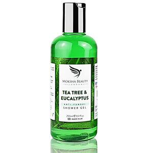 Tea Tree Oil Shower Gel Body Wash Antifungal Soap [Made In UK] 250ml Shower Gel