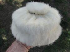 Fur Hat Vintage womans white mink ? Flechats france Patrice vnt chic 40s 30s 50s