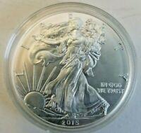 2015 - 1 oz American Silver Eagle Coin - One Troy oz .999 Bullion