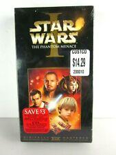Star Wars The Phantom Menace VHS 2000 New Sealed