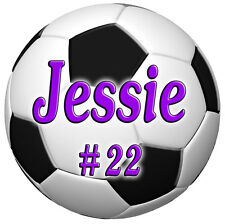 12 Soccer Team Decals Stickers Personalize Gifts Any Text Any Colors Waterproof