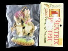 Schmid Beatrix Potter Fierce Bad Rabbit Ornament Made in Japan Rare New