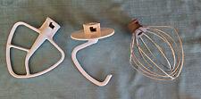 Cuisinart Stand Mixer Attachments - 5.5q Artisan Dough Hook, Paddle Beater, Whip