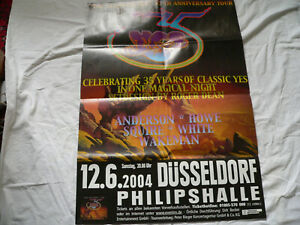 YES - THE ULTIMATE YES – Original German 35th Anniversary Tour Gig Poster 2003