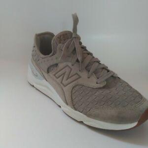 RARE New Balance X90 Sneaker Woven Tan/Sea Salt Shoe Size Men 8.5 - Womens sz 10