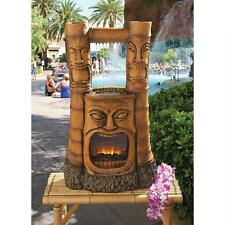 "SH382465 -Tiki Gods of Fire and Water"" Fountain - Garden, Yard!"