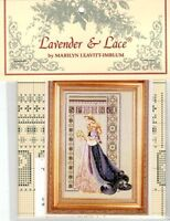 Lavender & Lace Counted Cross Stitch Pattern Chart ~ CELTIC SPRING Sale #50