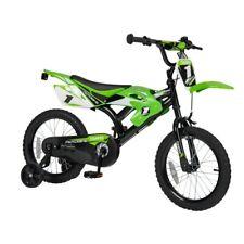 Kids Boys 16 Inch Moto X Bike With Stabilizers,16'' Wheels,Adjustable Handlebar