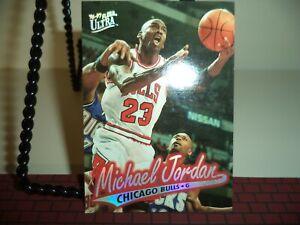 MICHAEL JORDAN 1996-97 FLEER ULTRA #16 CHICAGO BULLS 23