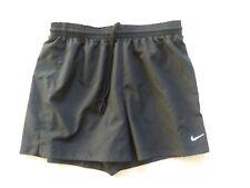 Womens Nike Shorts Size Medium Black Fit Dry Running Athletic Workout Shorts
