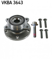 Skf vkba 3643 Cjto Cjto con accesorios delantero AUDI SEAT SKODA VW